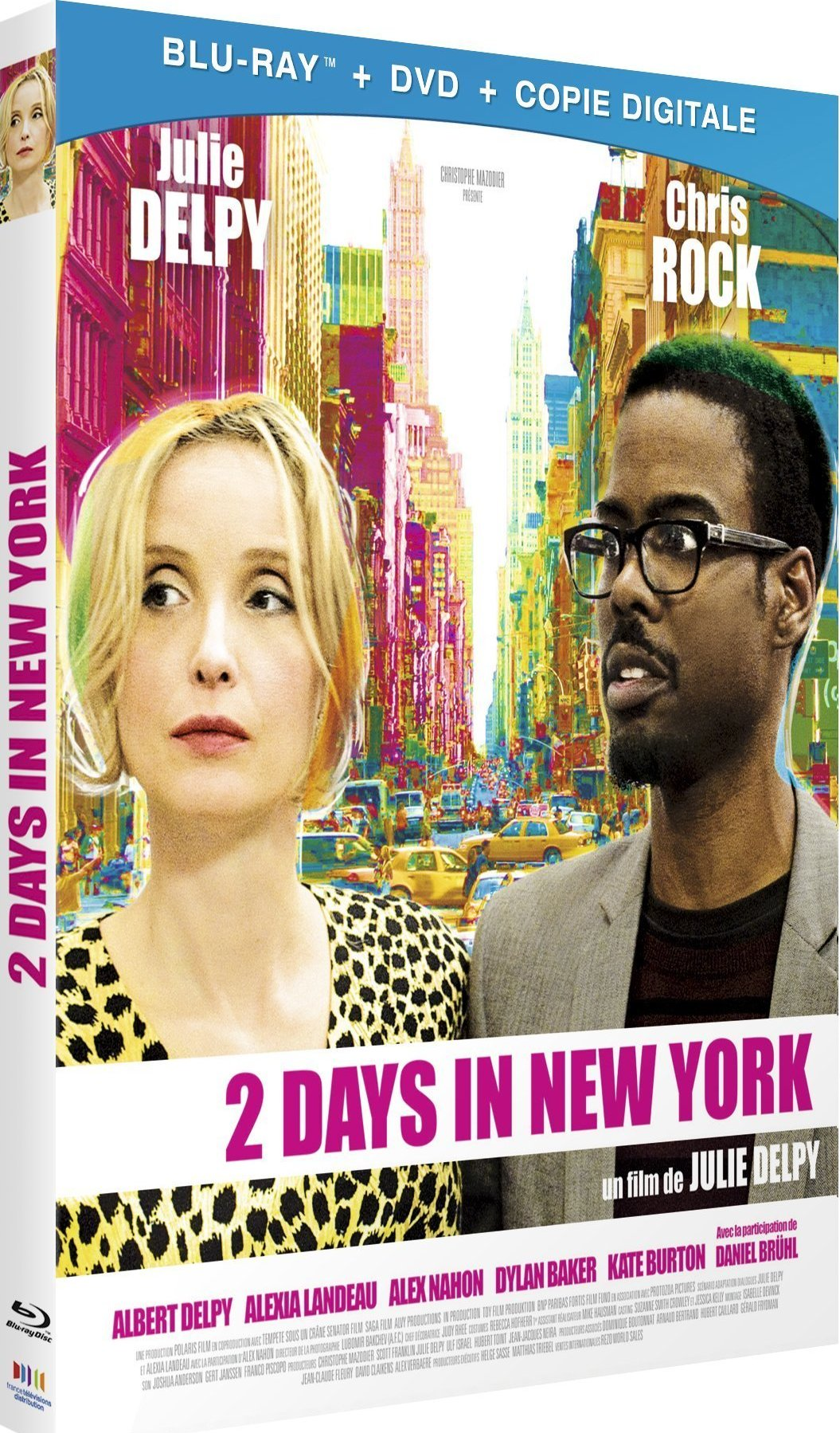 2 Days in New York 2012 BluRay 720p DTS x264-CHD
